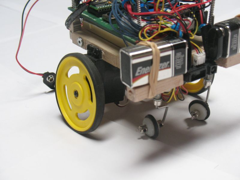 Autonomously Guided Robot